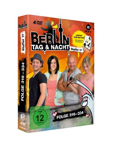 Berlin - Tag & Nacht, Vol. 17: Folgen 316-334 (Fan Edition) (4 DVDs)