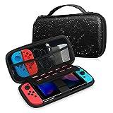 Fintie Tasche für Nintendo Switch - Tragetasche Aufbewahrungstasche Hülle Case mit 10 Spielkartenhaltern und Haltegurt für die Nintendo Switch Konsole Joy-Con & Accessoires, Sternbild