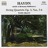 Haydn: String Quartets Op. 3, Nos. 3-6 (2002-08-20)