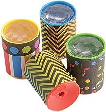 U.S. Toy Lot of 12 Rainbow Theme Mini Kaleidoscope Prism Scopes