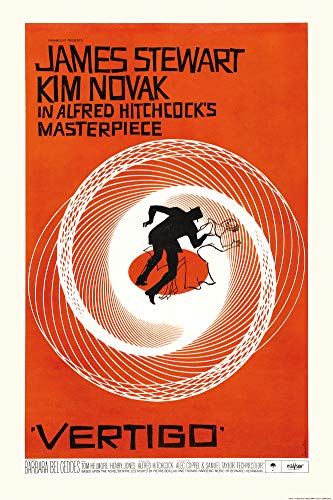 1art1 Vertigo - La Donna Che Visse Due Volte, 1958 Poster Stampa (91 x 61cm)
