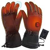 Mizily Unisex Beheizbare Handschuhe, Elektrische Handwärmer USB Wiederaufladbare...