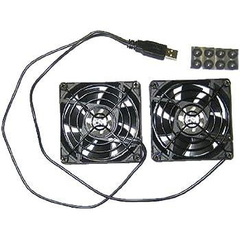 Coolerguys Dual 80mm USB Cooling Fans