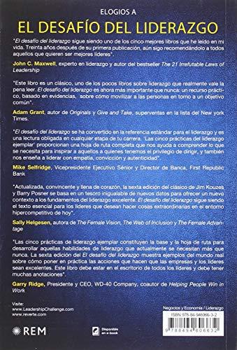 Resumen del libro de James M. Kouzes EL DESAFÍO DEL LIDERAZGO