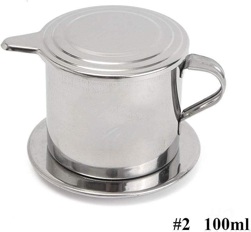 Vietnamese Coffee Filter Maker Stainless Steel Vietnam Vietnamese Coffee Simple Drip Filter Maker Infuser New 100ml