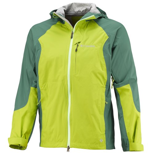 Columbia veste softshell men's attack shell foliage tech iI XL