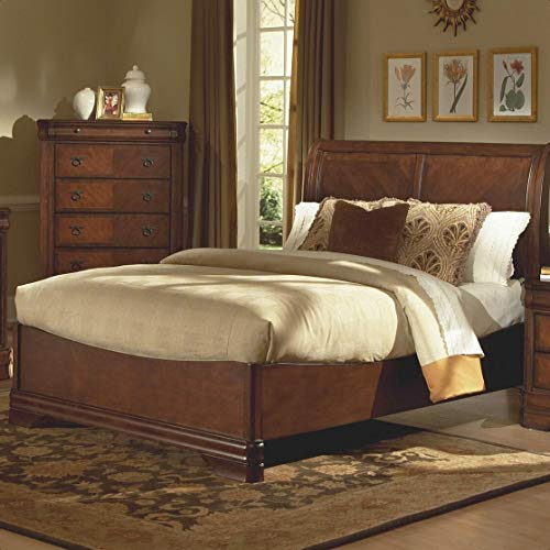 Bracamonte Sleigh Bed, Compatible with Adjustable Bed: No, Weight Capacity: 800 lb.