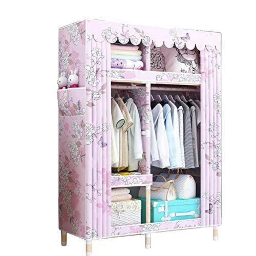 Kleiderschrank WTL Einfacher Massivholzkleiderschrank 105 * 45 * 170 Einfacher (Farbe : A)