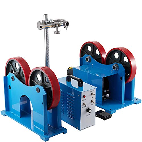 Mophorn Turning Rolls Linkage Roller 1000 KG/2200 LBS, Load Capacity Welding Turning Roll 20-1500mm, Welding Positioner 110V,Welding Equipment Support