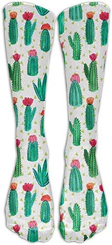 remmber me Kaktus mit Blumen-Strumpf-Rohr-Sport-athletischen Socken