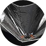 lona Transparente Gruesa, Lonas Impermeables de PVC para Bordes, Impermeable a Prueba de Viento para Preservación del Calor para Invernadero de Balcón (Size : 2×3m)