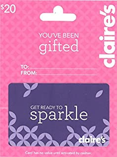 Best claire's gift cards Reviews