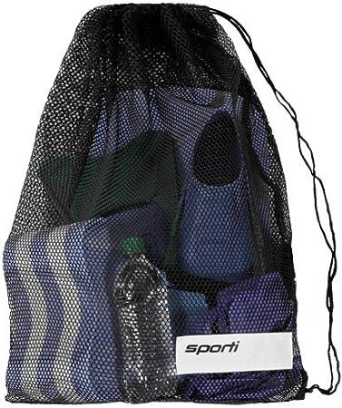 Engine Mesh Swimming Backpack Red Mesh Swim Gear Bag