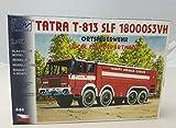 Modellbau Kunststoff Modellbausatz LKW Tatra T 813 SLF 18000S3VH Feuerwehr SDV 1:87 H0 -