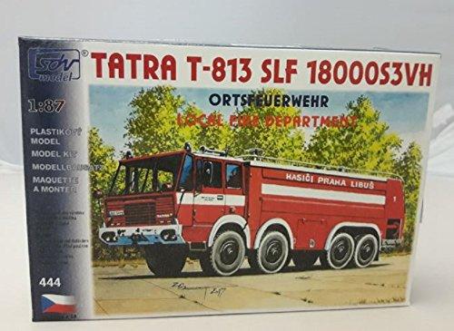 Modellbau Kunststoff Modellbausatz LKW Tatra T 813 SLF 18000S3VH Feuerwehr SDV 1:87 H0