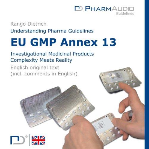 Eu Gmp Annex 13 Titelbild