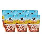 Glebe Farm - Copos de avena sin gluten - 6X450G, saludables, ricas en fibra