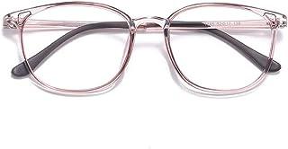 Amazon.es: gafas grandes mujer - Rosa / Monturas de gafas ...
