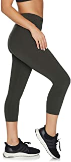 Rockwear Activewear Women's 7/8 Logo Tight from Size 4-18 for 7/8 Length High Bottoms Leggings + Yoga Pants+ Yoga Tights