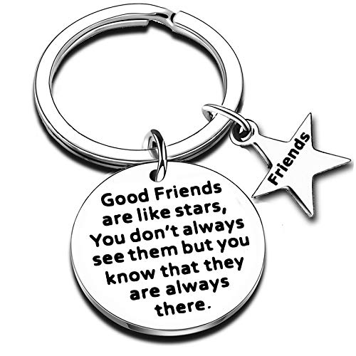 Gifts For Best Friend Jewellery Keyring Friendship Gifts Best Friends Gifts For Women BFF Girls Gifts For Sister Birthday Gifts Key Ring (Keychain #1)