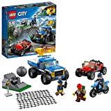 LEGO City - La course-poursuite en montagne - 60172 - Jeu de Construction