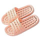ZHIZI Chanclas Zapatos de Ducha para Mujeres, Zapatillas de baño de Secado rápido Hueco, Sandalias de Playa de Verano con Agujeros de Drenaje (Color : Pink, Size : US9/EU41/UK7)