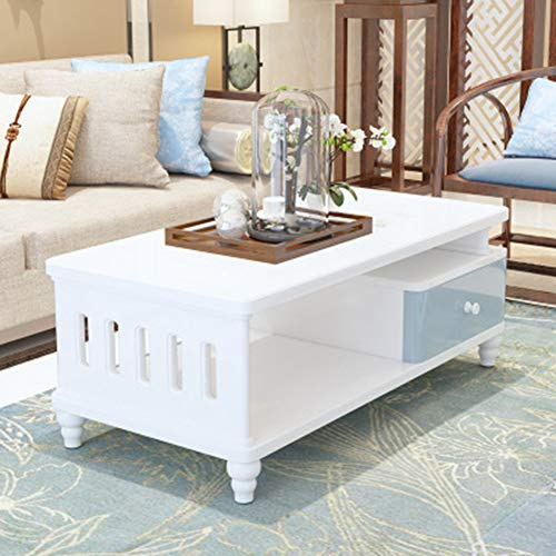 ZXMDP Coffee Table for Living Room Furniture Sets Small Round Ready Assembled Set White Nest Of Tables Oak Solid Low Chest Drawers Dark Wood Side Lift Top Grey Gloss Tablesiving Foldable Sewing