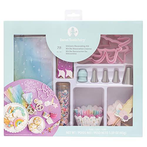 American Crafts STF DecoratingKit Unicorn 75pc, Multicolor