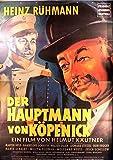 Der Hauptmann von Köpenick - Heinz Rühmann - Filmposter
