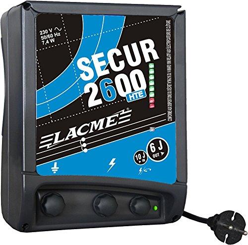 Lacme SECUR2600 Elektrozaungerät schwarz/blau