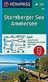 KOMPASS Wanderkarte Starnberger See, Ammersee: 4in1 Wanderkarte 1:50000 mit Aktiv Guide und Detailkarten inklusive Karte zur offline Verwendung in der ... (KOMPASS-Wanderkarten, Band 180)