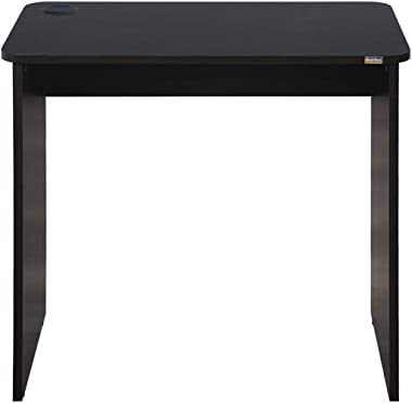 WOODWARE Amica Study Table and Office Desk (Wenge, Medium)