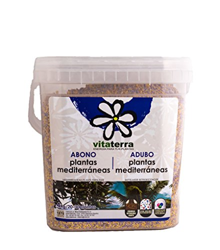Vitaterra Abono Plantas Mediterráneas 4 kg, 28214