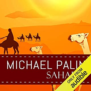 Sahara audiobook cover art