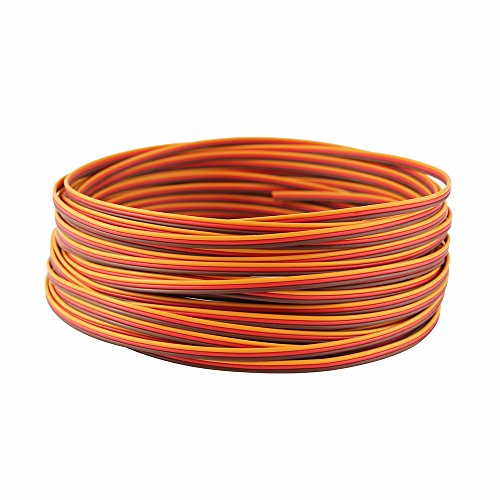OliYin Roll Over Image to Zoom in 50 Feet 22AWG Servo Extension...