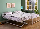 Kings Brand Furniture Twin Size Steel Day Bed (Daybed)...