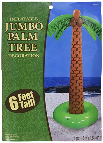 amscan Party Inflatable Palm Tree, 6'