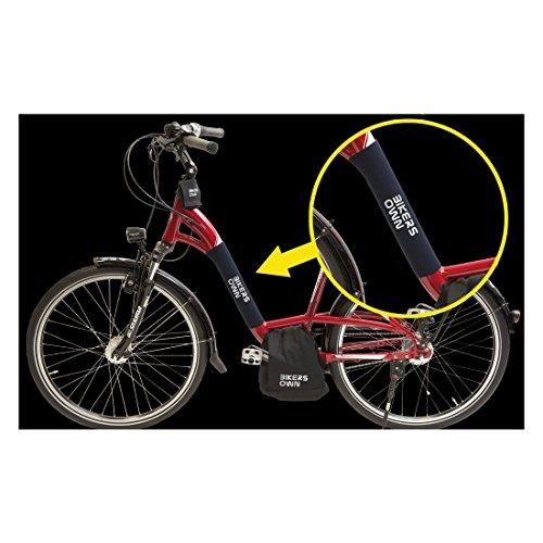 BikersOwn 2085801100 Steinschlag, schwarz, 30 x 20 x 20 cm