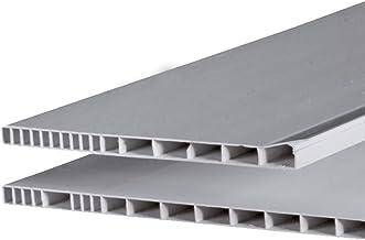 195 mm Rollladenkastendeckel Rollladendeckel Rollodeckel Jalousiedeckel Ged/ämmt Rollo 800 mm