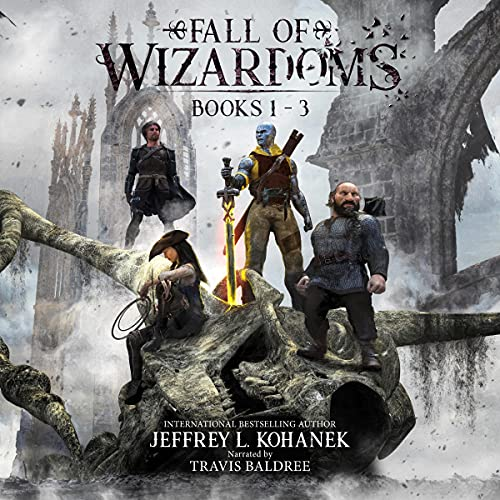 Fall of Wizardoms Box Set: An Epic Fantasy Series, Books 1-3 cover art