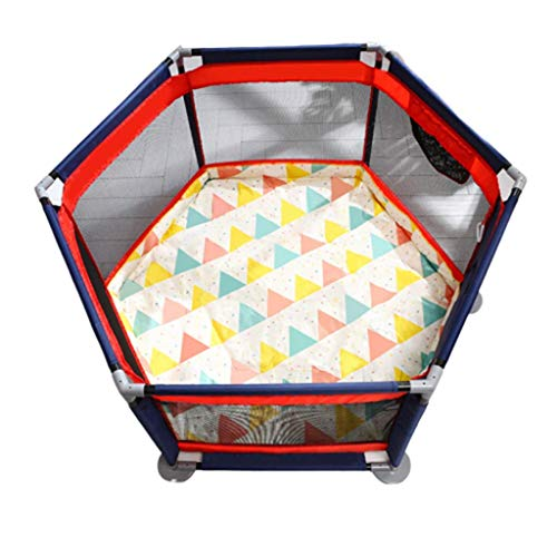 NMDD Baby Playpens Kids Activity Centre Safety Play Yard Fence Toys Toddler Crawl Mat Carpet Indoor Playground Playyard Protective Castle Game Room Hearth Gate Ball Pits