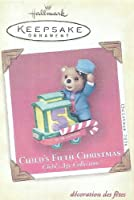 Hallmark Keepsake Ornament - Child's Fifth Christmas 2004 (QXG5774) by Hallmark [並行輸入品]