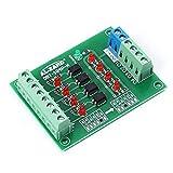 Optoacoplador de 4 bits Módulo de placa de convertidor de voltaje de nivel de señal PLC ...