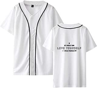 Kpop BTS Speak Yourself New Album The Same Style Shirt Suga Rap-Monster Jimin Jung Kook Fashion for Unisex T-Shirts