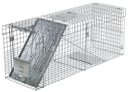 Havahart 1089  Collapsible One-Door Live Animal Cage Trap for Raccoon, Stray Cat,  Groundhog,...
