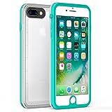 Fansteck iPhone 8 Plus iPhone 7 Plus Waterproof Case, Ultra Slim Durable Waterproof IP68 / High Sensitive Touch Screen Touch ID Waterproof Case 5.5 inch (Mint Green)