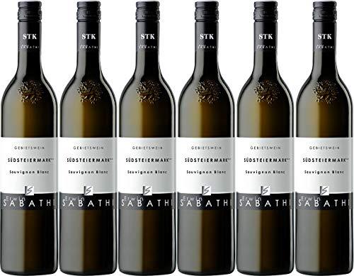 Erwin Sabathi Südsteiermark DAC Sauvignon Blanc 2019 Trocken (6 x 0.75 l)