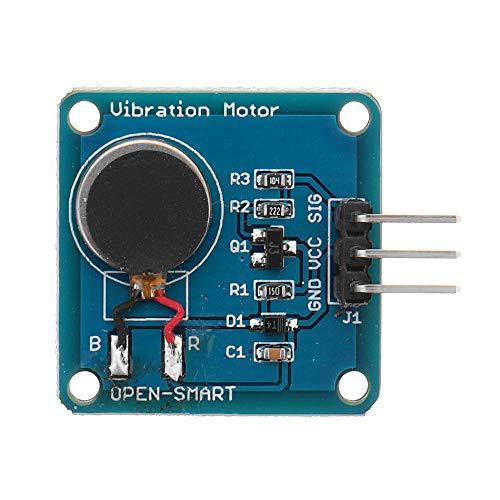 Modulo electronico Vibración Motor Module Mini Motor DC plana vibrante Geekcreit for A-r-d-u-i-n-o - productos que funcionan con placas A-r-d-u-i-n-o oficiales 10pcs