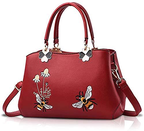 Oinna Bolsos de mano mujer moda bolsos de mano gran capacidad mujer bolso de hombro nuevo mujer bolso bandolera mujer bolso de cuero 27 * 11 * 19 cm, color, talla 27*11*19cm