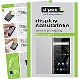 dipos I 6X Schutzfolie matt kompatibel mit Doogee F5 Folie Bildschirmschutzfolie